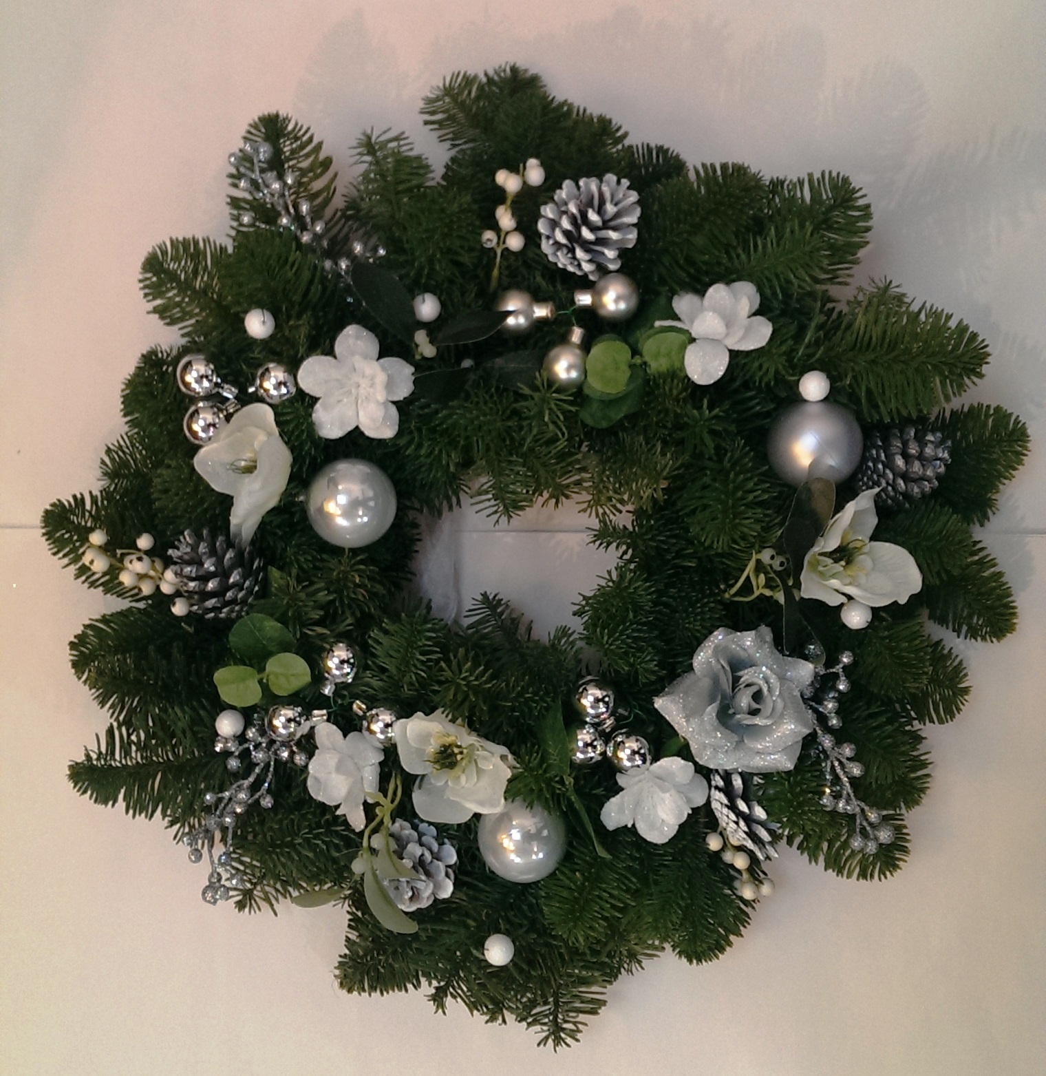if you are in an old cottage with beams decorate them with garlands dotted with lights this is great way to bring some additional seasonal cheer into your